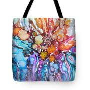 Treasures From Rainbow Reef Tote Bag