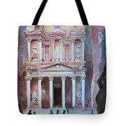 Treasury Building Petra Jordan Tote Bag