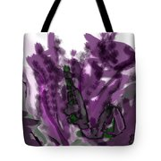 Treat Me To Lavender Tote Bag