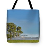 Tree Above The Clouds Tote Bag