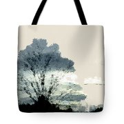 Tree Along The Way Tote Bag