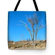 Tree And A Dune Tote Bag