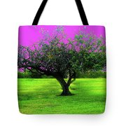 Tree And Color Tote Bag