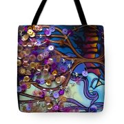 Tree And Face Of Beauty Tote Bag