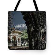 Tree And Gazebo Tote Bag