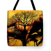 Tree And Her Tote Bag