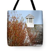 Tree And School House 795 Tote Bag