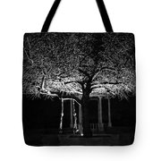 Tree And Swing Tote Bag