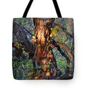 Tree And Vine Tote Bag