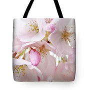 Tree Blossoms Art Prints Canvas Pink Spring Blossoms Baslee Troutman Tote Bag
