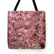 Tree Blossoms Pink Blossoms Art Prints Giclee Flower Landscape Artwork Tote Bag