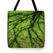 Tree Branch Shadow Tote Bag