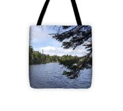 Tree By The Water Tote Bag