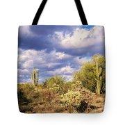 Tree Cactus Tote Bag
