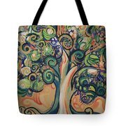 Tree Candy Tote Bag by Genevieve Esson