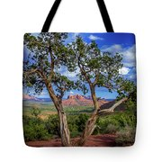 Tree Captures Sedona Tote Bag