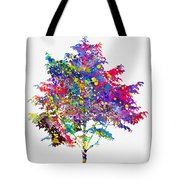 Tree-colorful Tote Bag