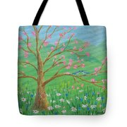 Tree For Two Tote Bag