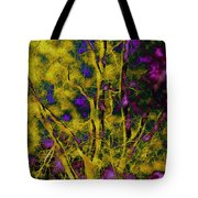 Tree Glow Tote Bag