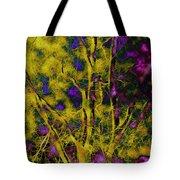 Tree Glow Tote Bag