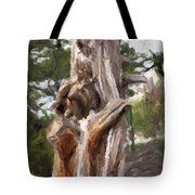 Tree Gnarl Tote Bag