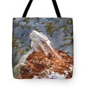 Tree Going Back To The Earth Tote Bag