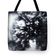 Tree Implosion Tote Bag