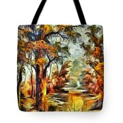 Tree Impression Tote Bag