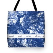 Tree In Your Heart Tote Bag
