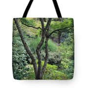 Tree Japanese Garden Tote Bag