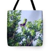 Tree Landing Tote Bag