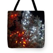 Tree Lights Tote Bag
