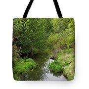 Tree Mirror In Stream 2 Tote Bag
