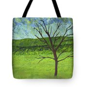Tree No Leaves Tote Bag