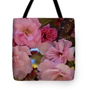 Tree Of Flowers Tote Bag