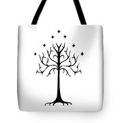 Tree Of Gondor Crest Tote Bag