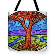 Tree Of Grace - Autumn Tote Bag