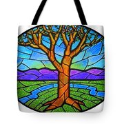 Tree Of Grace - Spring Tote Bag
