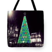Tree Of Hearts In Green 2 Tote Bag