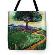 Tree Of Imagination Tote Bag