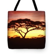 Tree Of Life Africa Tote Bag