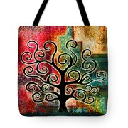 Tree Of Life Tote Bag by Jaison Cianelli