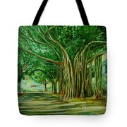 Tree Old Guy Tote Bag