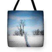 Tree On A Hill Tote Bag by Joyce Kimble Smith