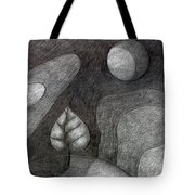 Tree On Moon  Tote Bag