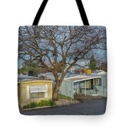 Tree Over The Park Tote Bag