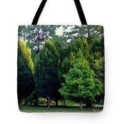 Tree Personalities Tote Bag