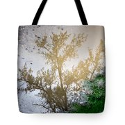 Tree Reflection Upside Down 1 Tote Bag