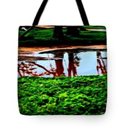 Tree Reflections Tote Bag