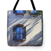 Tree Shadows On Savannah House Tote Bag